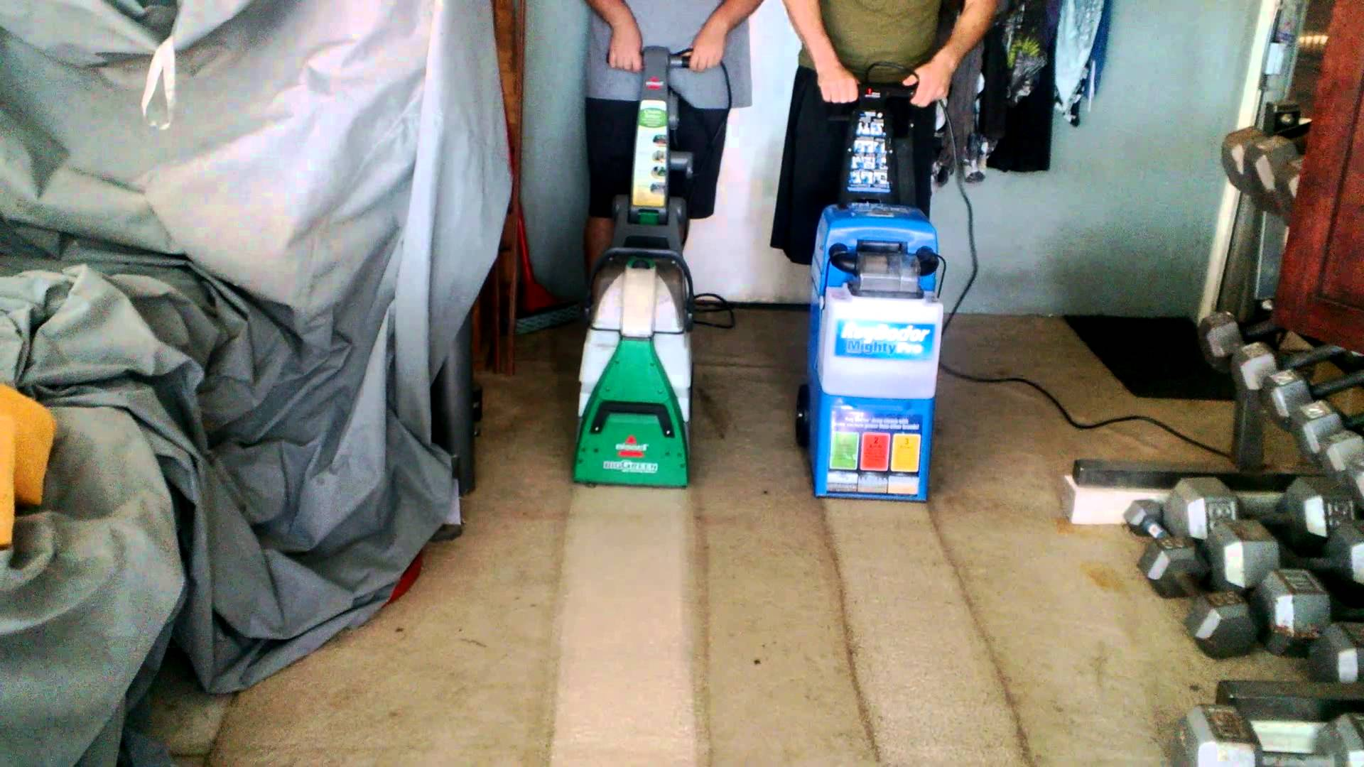 Rug Doctor Deep Carpet Cleaner Vs Bissell Big Green