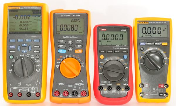 Fluke 115 Multimeter : Fluke vs true rms multimeter which is better