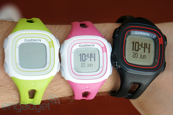 Garmin Forerunner 10 vs 110