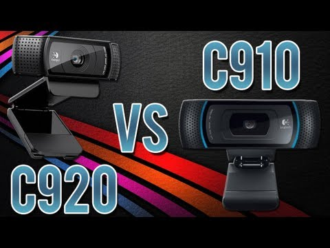 Logitech C920 vs C910