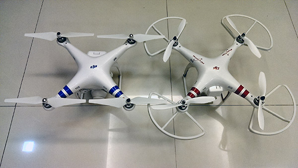 DJI Phantom 2 vs Phantom 1