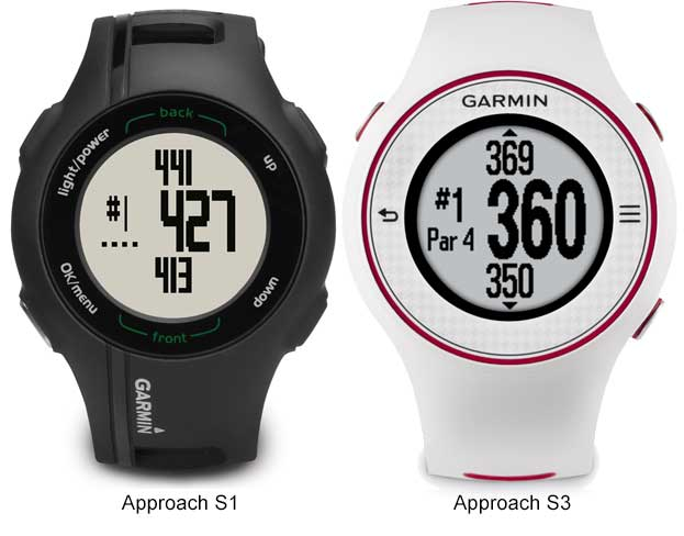 Garmin Approach S1 vs S3