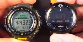 Suunto Core vs Casio Pathfinder