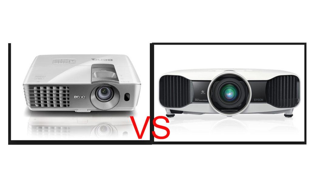 Benq W1070 vs Epson 3020