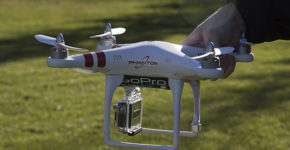 DJI Phantom 2 Vision Vs. GoPro Hero3+ Black Edition