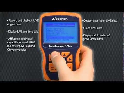Actron CP9580 Vs CP9580A
