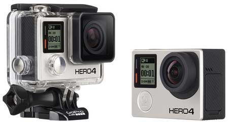 GoPro HERO 4 Black Vs Silver
