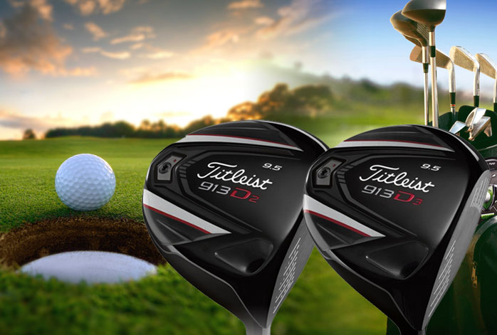 Titleist 913 D2 Vs D3