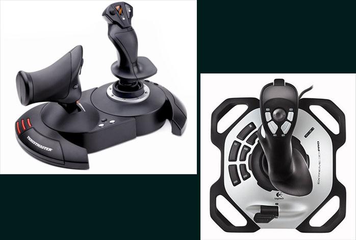 Thrustmaster T.Flight Hotas X Vs Logitech Extreme 3D Pro