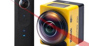 Ricoh Theta S Vs Kodak SP360