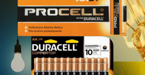 Duracell Procell Vs Coppertop