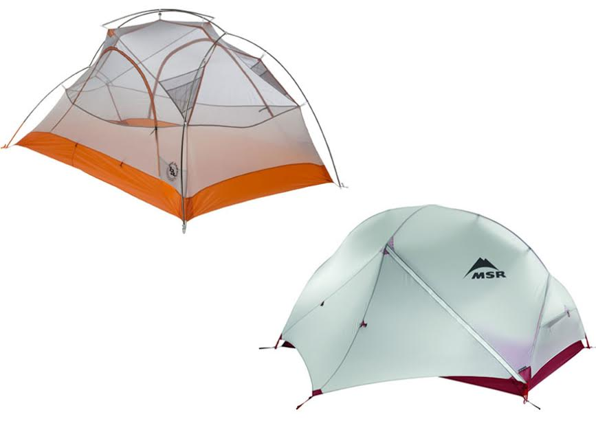 Big Agnes Copper Spur UL2 Vs MSR Hubba Hubba