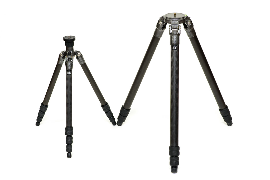 Manfrotto Vs Gitzo Carbon Fiber 4 Section Tripod