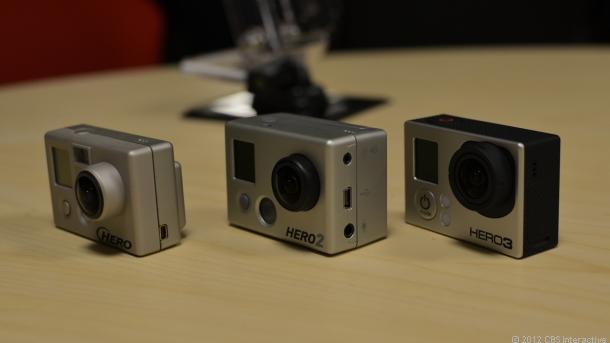 Gopro Hero 3+ Black Vs Silver