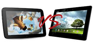 Asus Transformer Vs Nexus 10