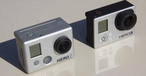 GoPro Hero2 vs Hero3