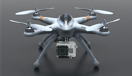 DJI Phantom vs Walkera QR X350