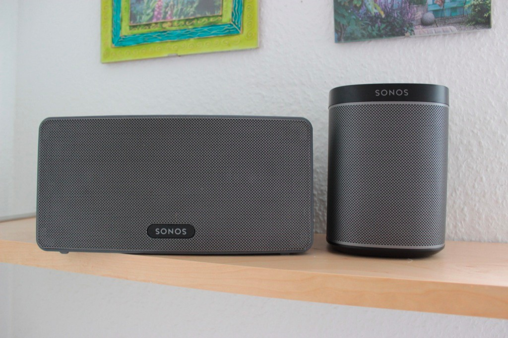 Sonos Play 1 vs Play 3