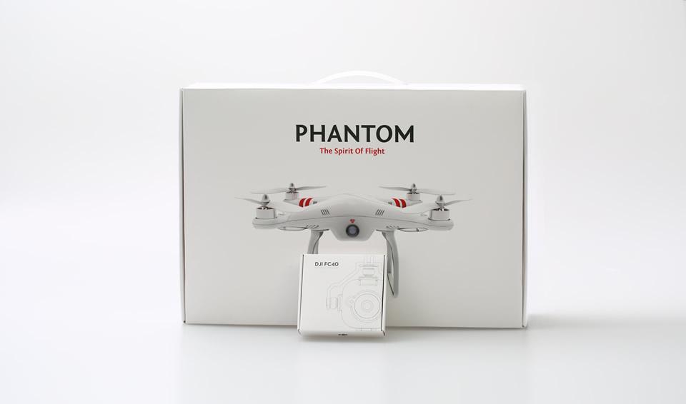 DJI Phantom 2 Vs FC40