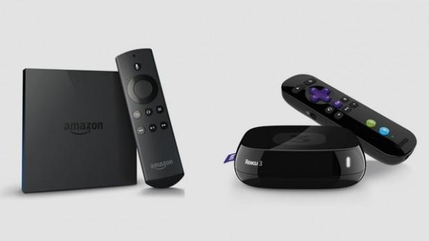 Amazon Fire TV Vs Roku 3