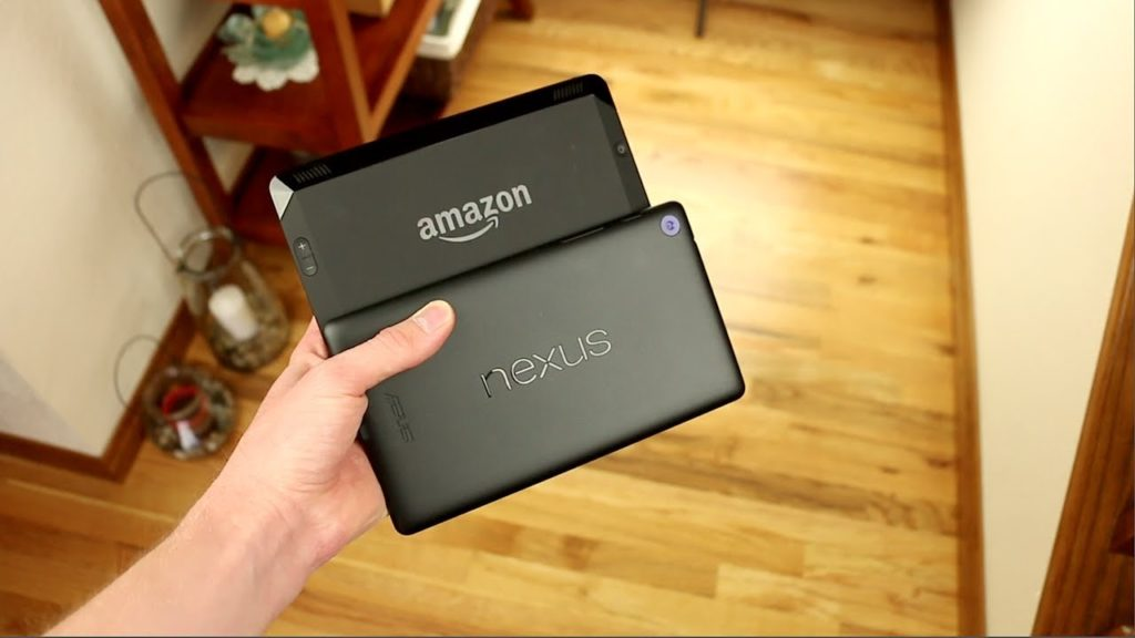 Kindle Fire HDX Vs Nexus 7