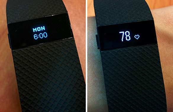 Fitbit Charge HR Vs Jawbone UP3