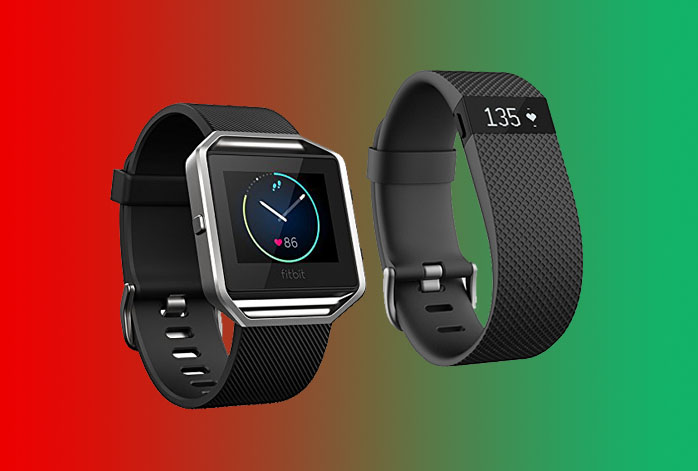 Fitbit Blaze Vs Charge HR
