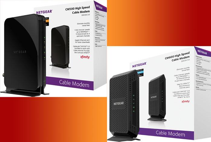 Netgear CM600 Vs CM500