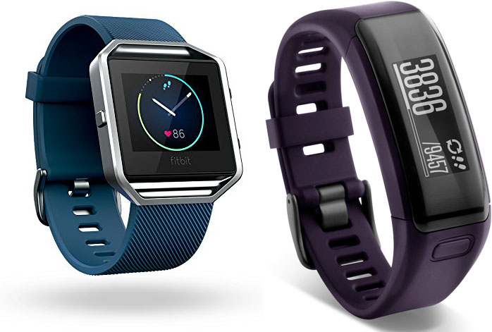 Fitbit Blaze Vs Garmin Vivosmart HR