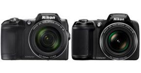 Nikon Coolpix L840 Vs L340