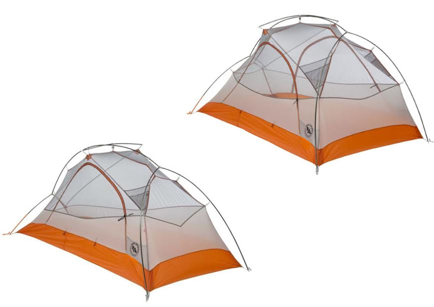 Big Agnes Copper Spur UL1 Vs UL2
