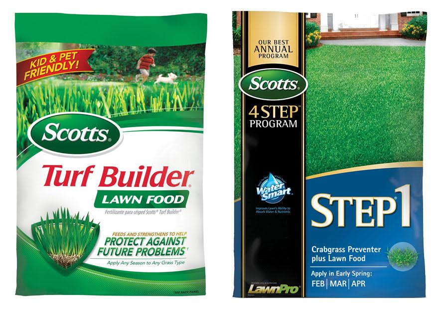 Scotts Turf Builder Vs Step 1